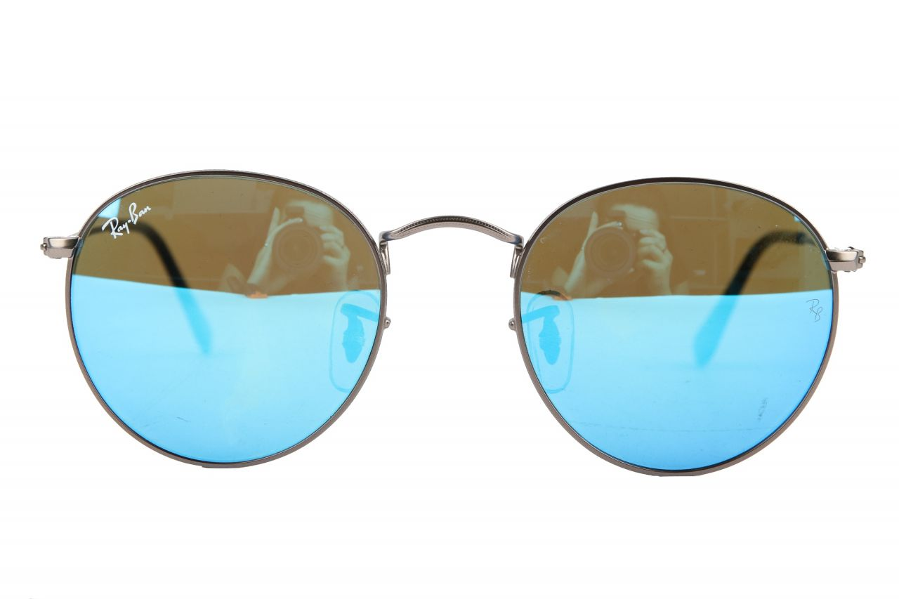Ray-Ban Round Metal RB3447 Sonnenbrille