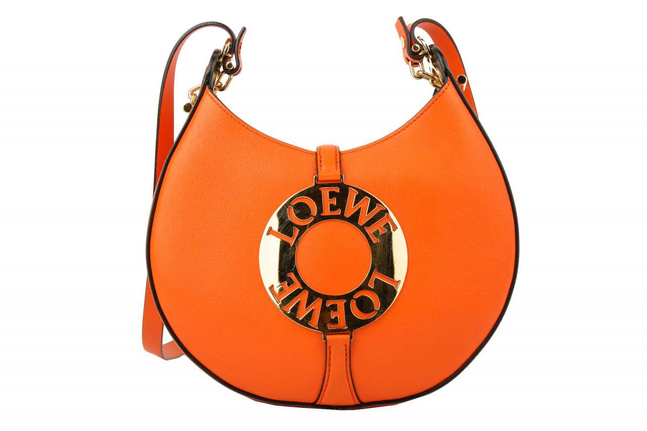 Loewe Joyce Shoulder Bag Orange
