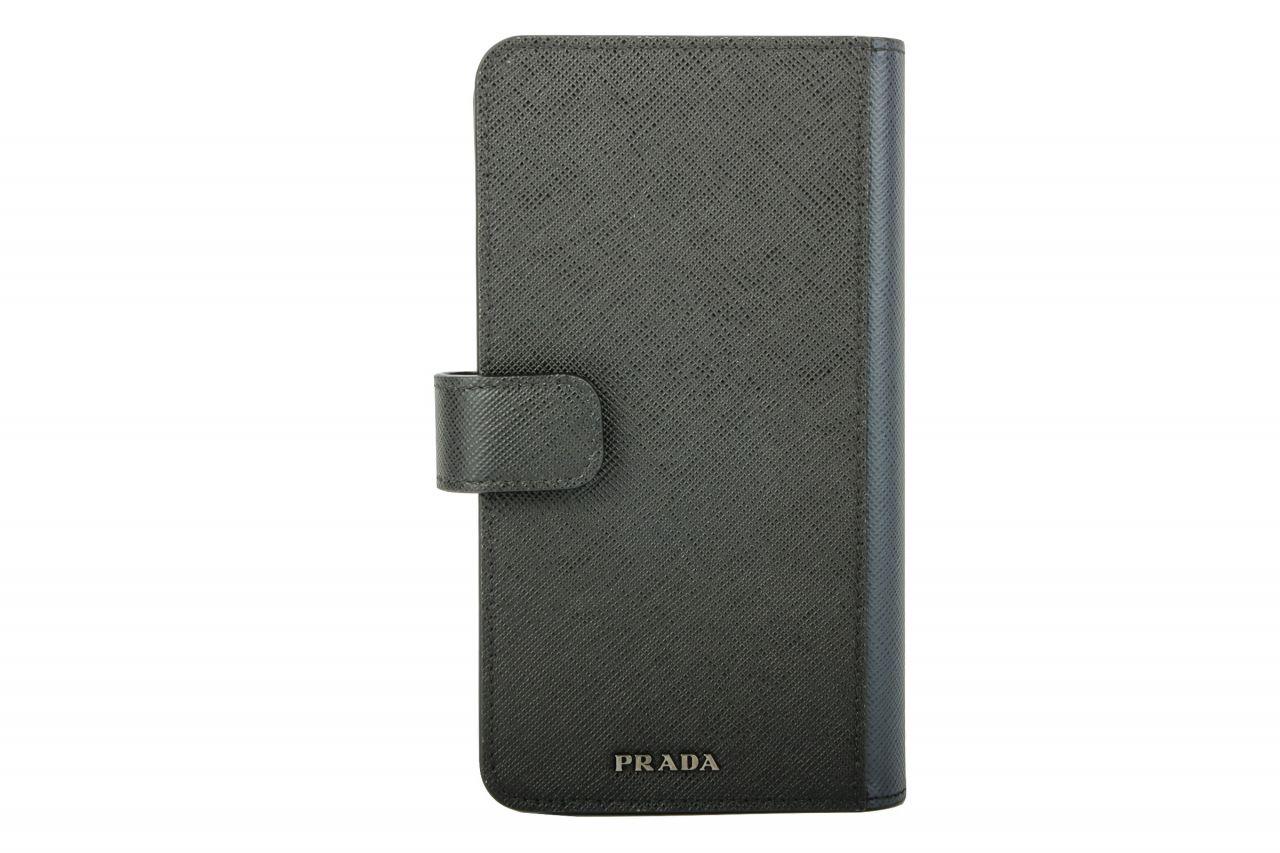 Prada Handy Case Schwarz / Marine