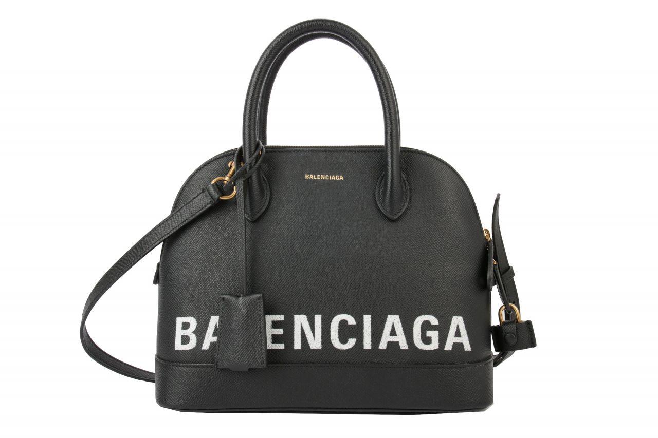 Balenciaga Ville S Top Handle Bag Black