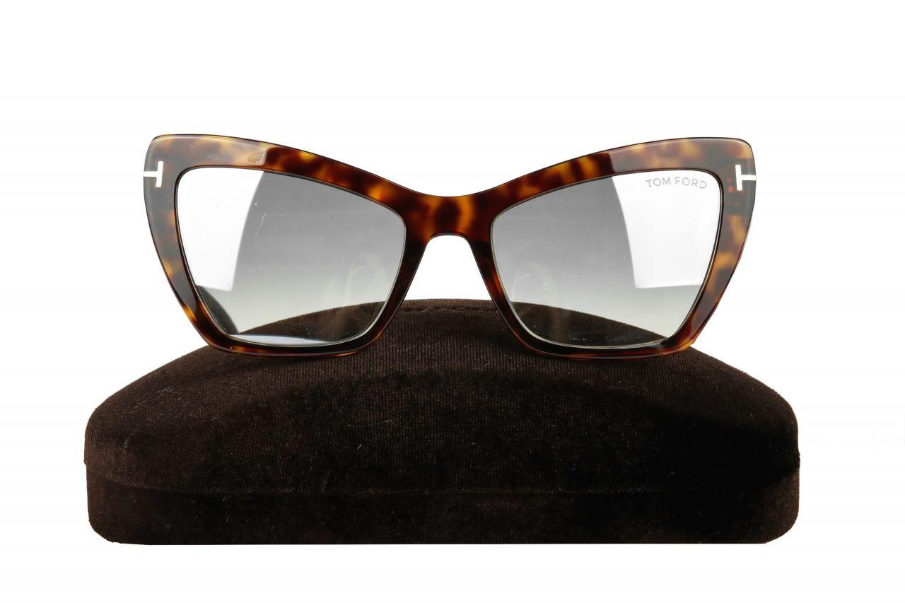 Tom Ford Valesca-02 TF555 52X Sonnenbrille Braun