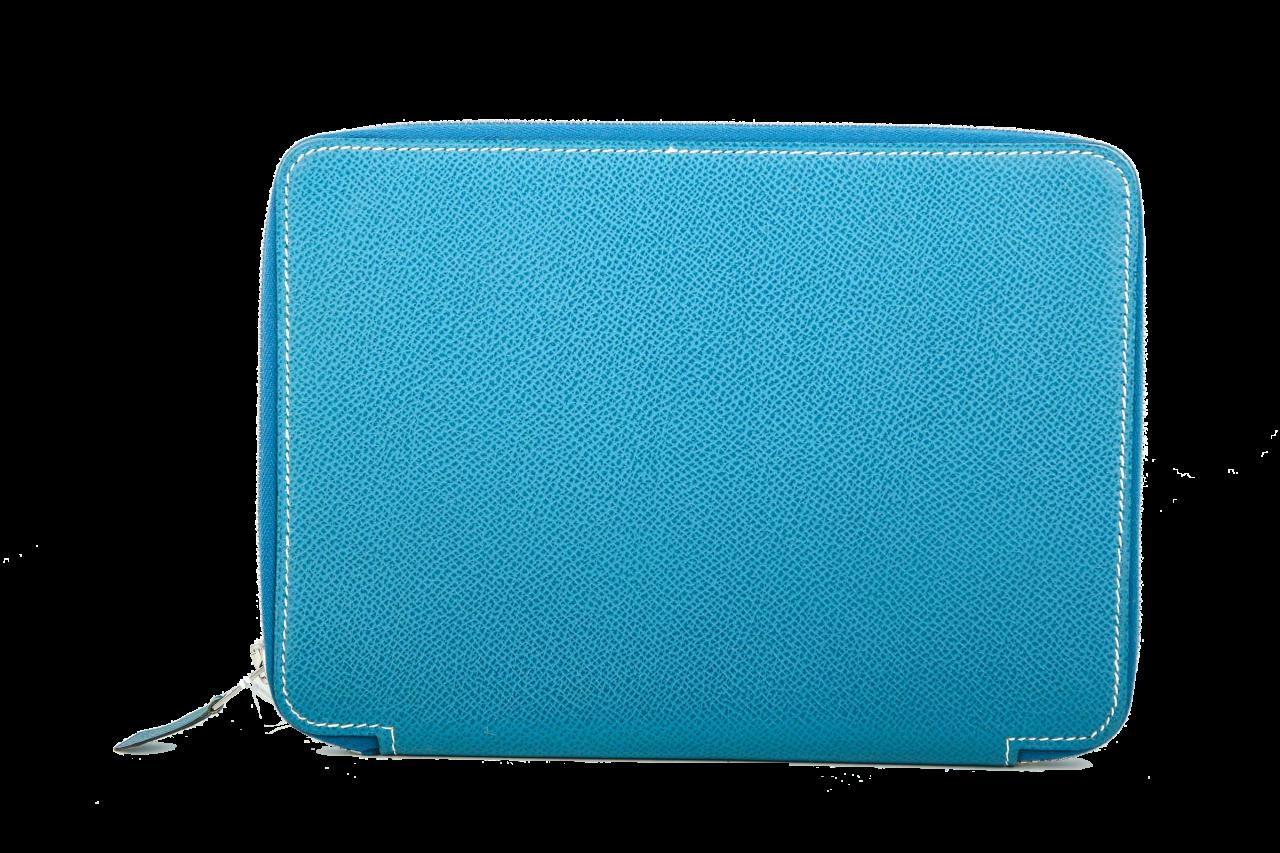 Hermès Agenda Silkydaily Blau
