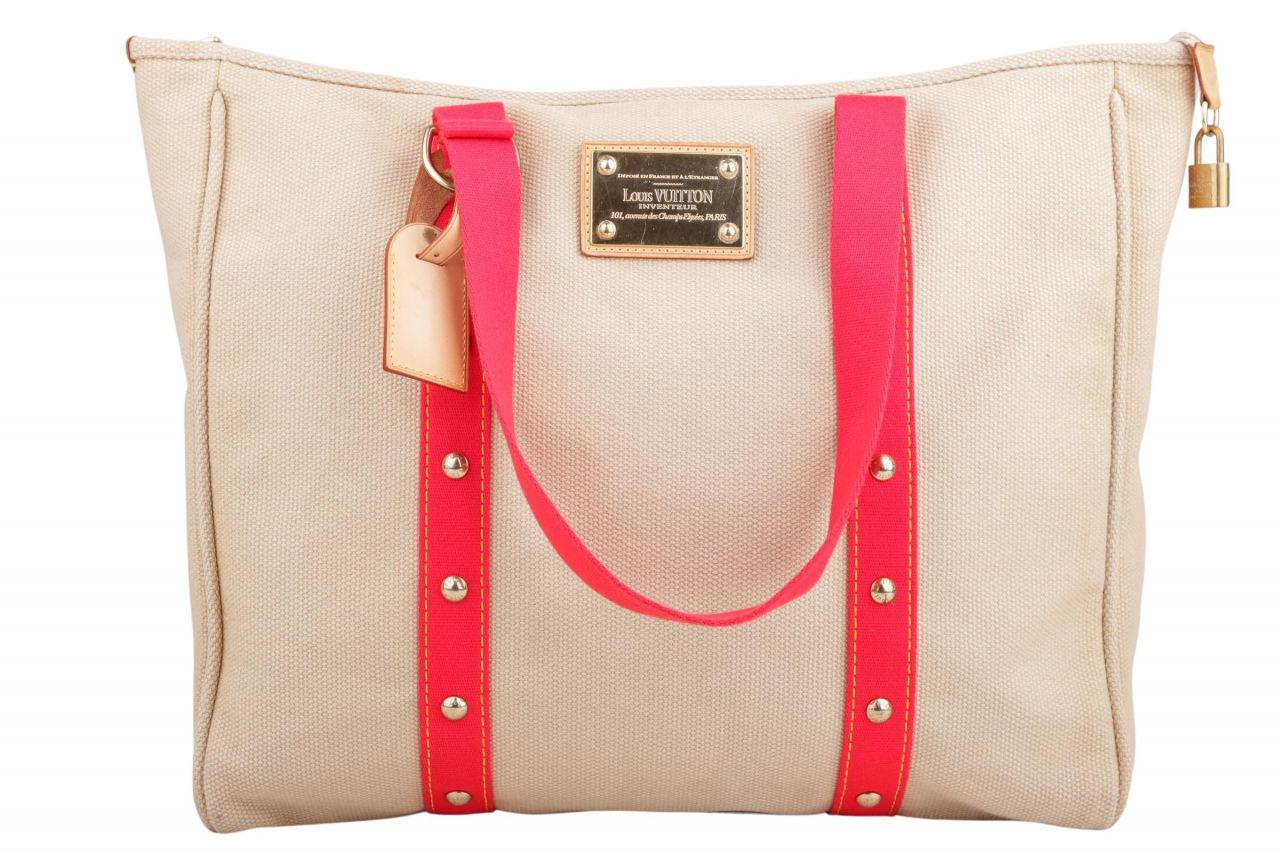 Louis Vuitton Canvas Shopper