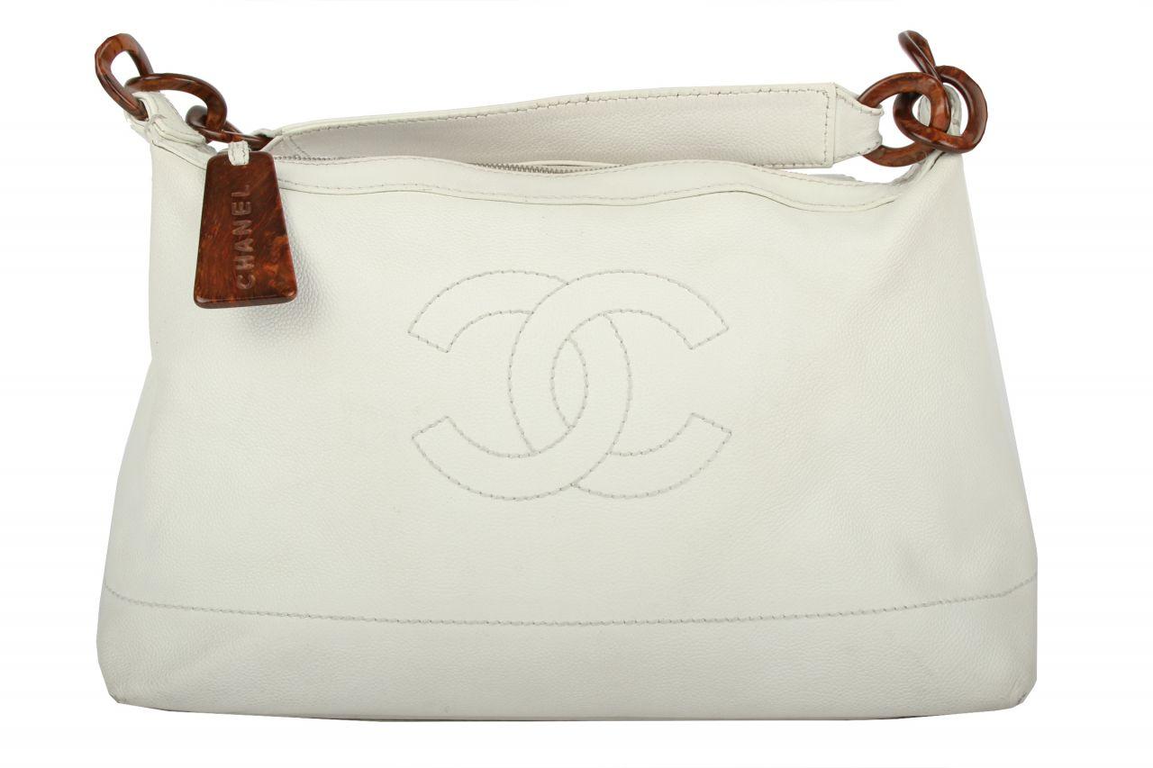 Chanel Shopper Weiß