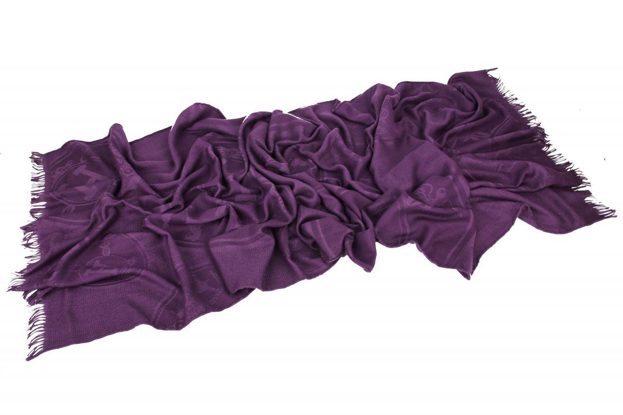 Hermès Schal Lila