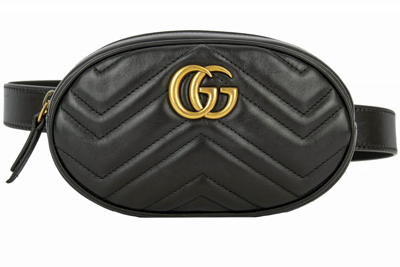 Gucci Marmont Belt Bag Schwarz
