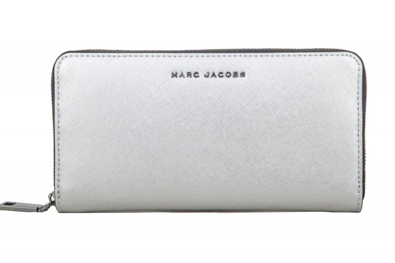 Marc Jacobs Wallet Metallic Silver