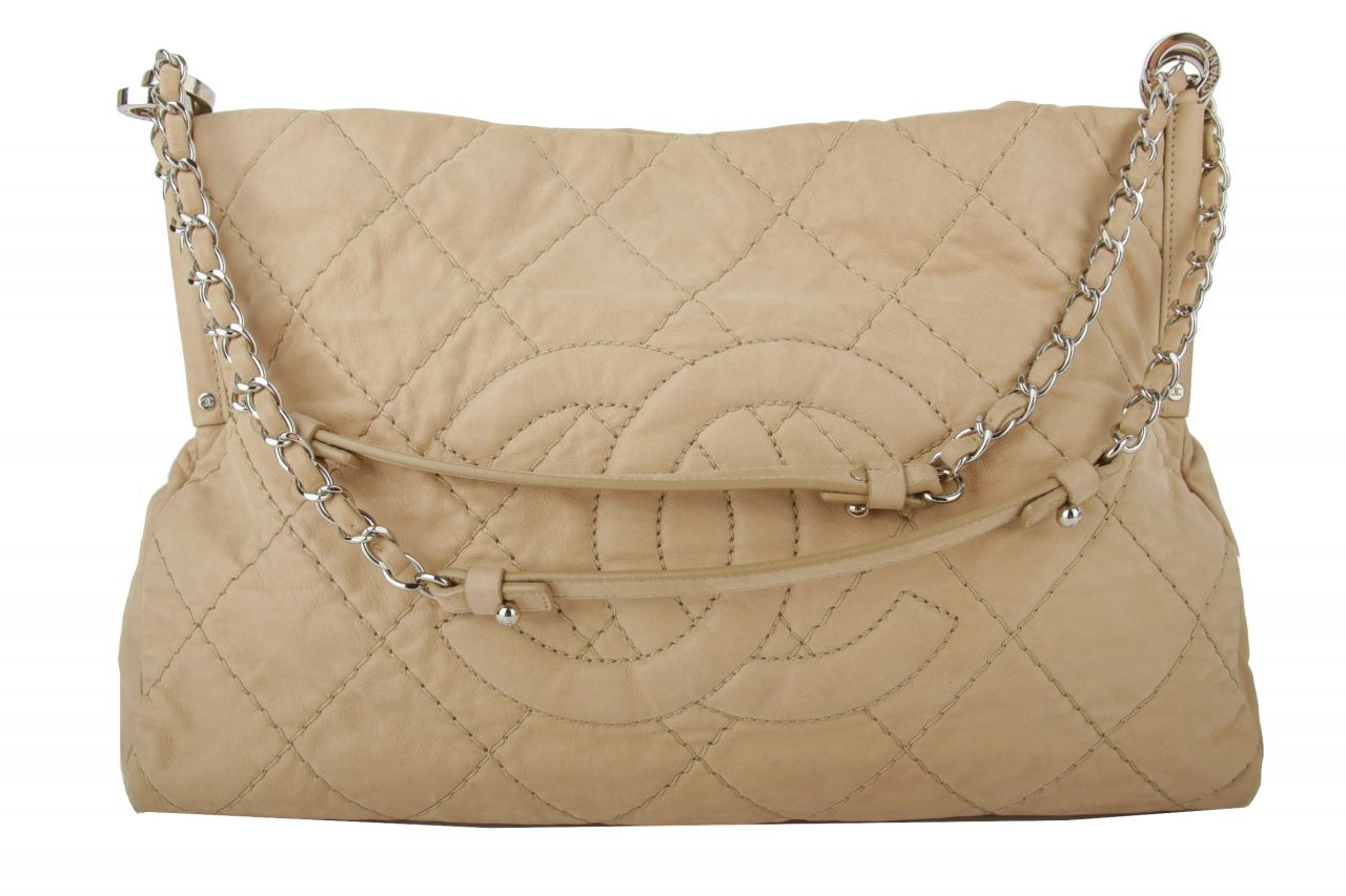 Chanel Shopper Beige