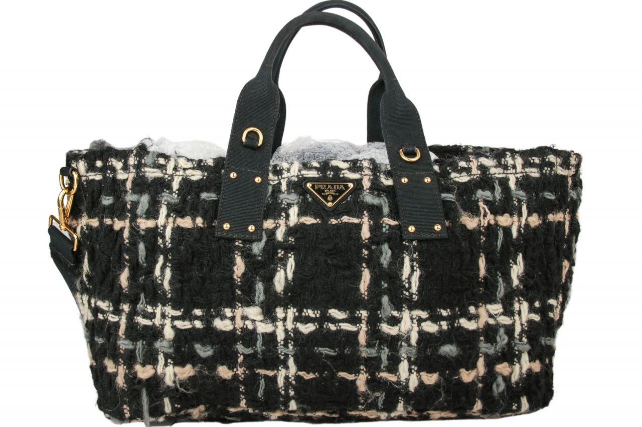 Prada Shopper Tweed
