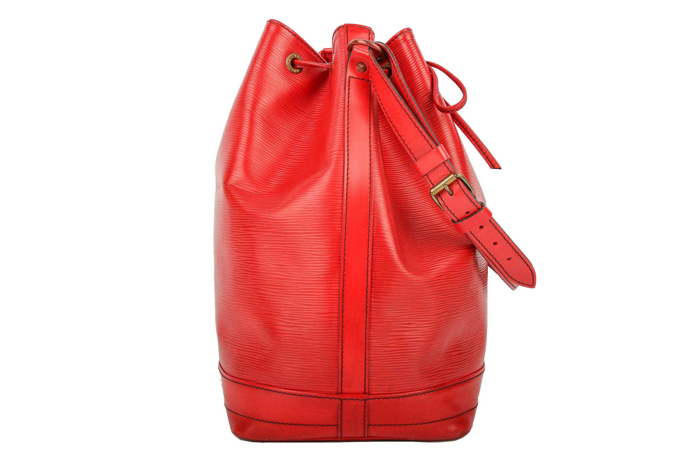 94714545c0070 Preview  Louis Vuitton Sac Noé Grand Epi Leder Rot. Preview  Louis Vuitton  Sac Noé Grand Epi Leder Rot
