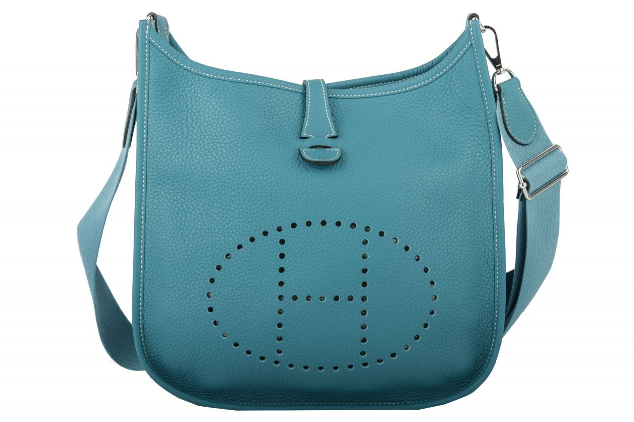 Hermès Evelyn PM Blau