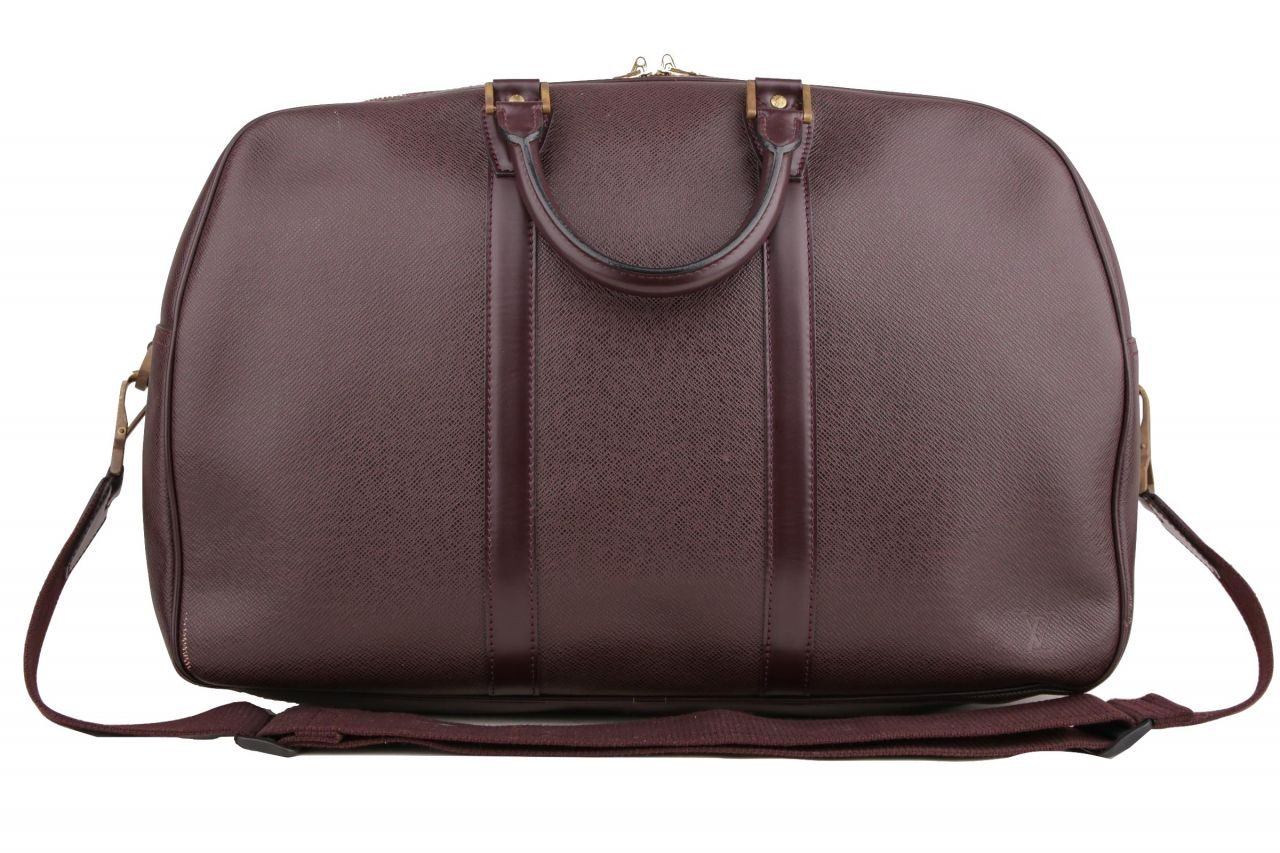 Louis Vuitton Kendall PM Taiga Leather Burgundy